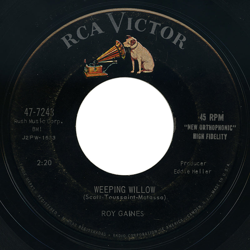 Roy Gaines – Weeping Willow – RCA Victor