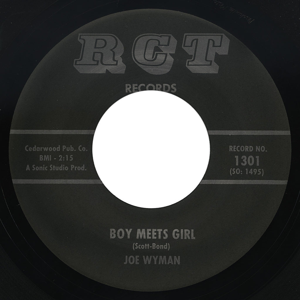 Joe Wyman – Boy Meets Girl – RCT
