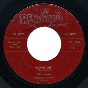 Linda Leigh - Move Out / It's Real - Rendezvous