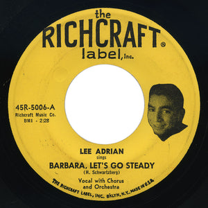Lee Adrian – Barbara, Let's Go Steady