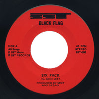 Black Flag – Six Pack / I've Heard It Before / American Waste – SST