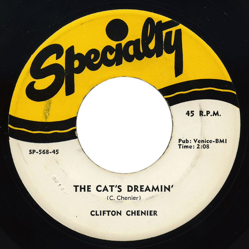Clifton Chenier – The Cat's Dreamin'