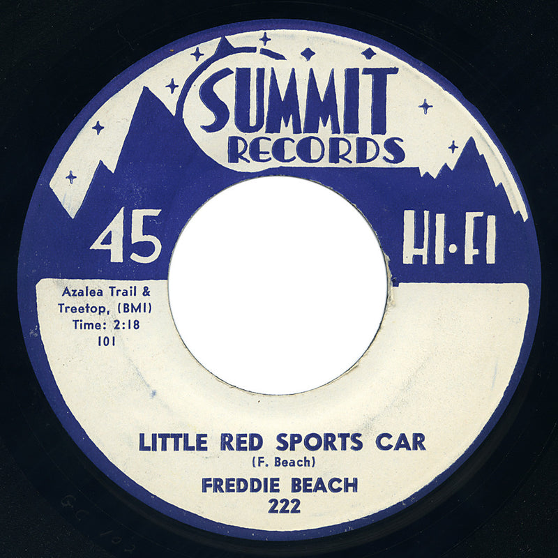 Freddie Beach – Little Red Sports Car – Summit