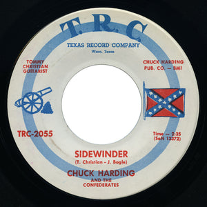 Chuck Harding and The Confederates - Sidewinder / I Love - T.R.C.