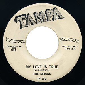 Saxons – My Love Is True – Tampa