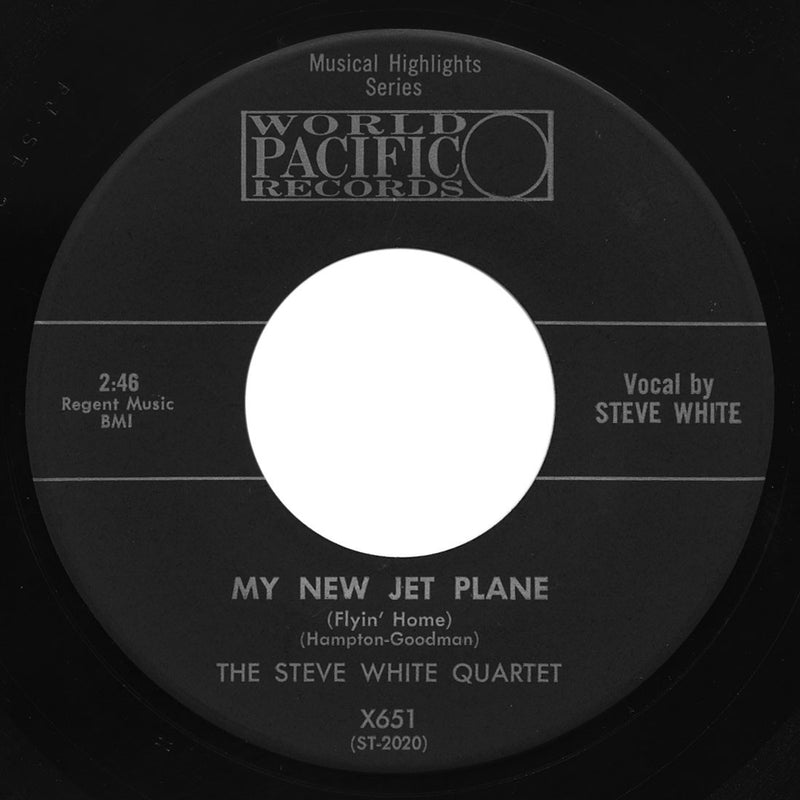 Steve White Quartet – My New Jet Plane (Flyin' Home)