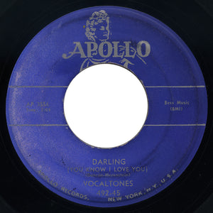 Vocaltones – Darling (You Know I Love You) – Apollo