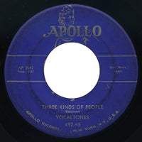 Vocaltones – Three Kinds Of People – Apollo