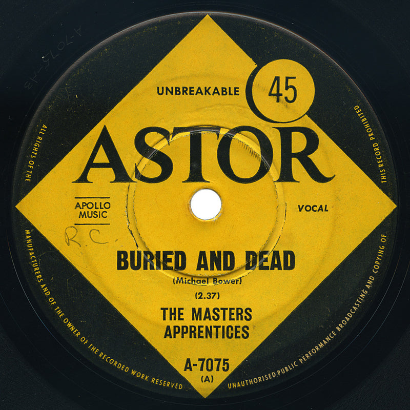 Masters Apprentices – Buried And Dead – Astor
