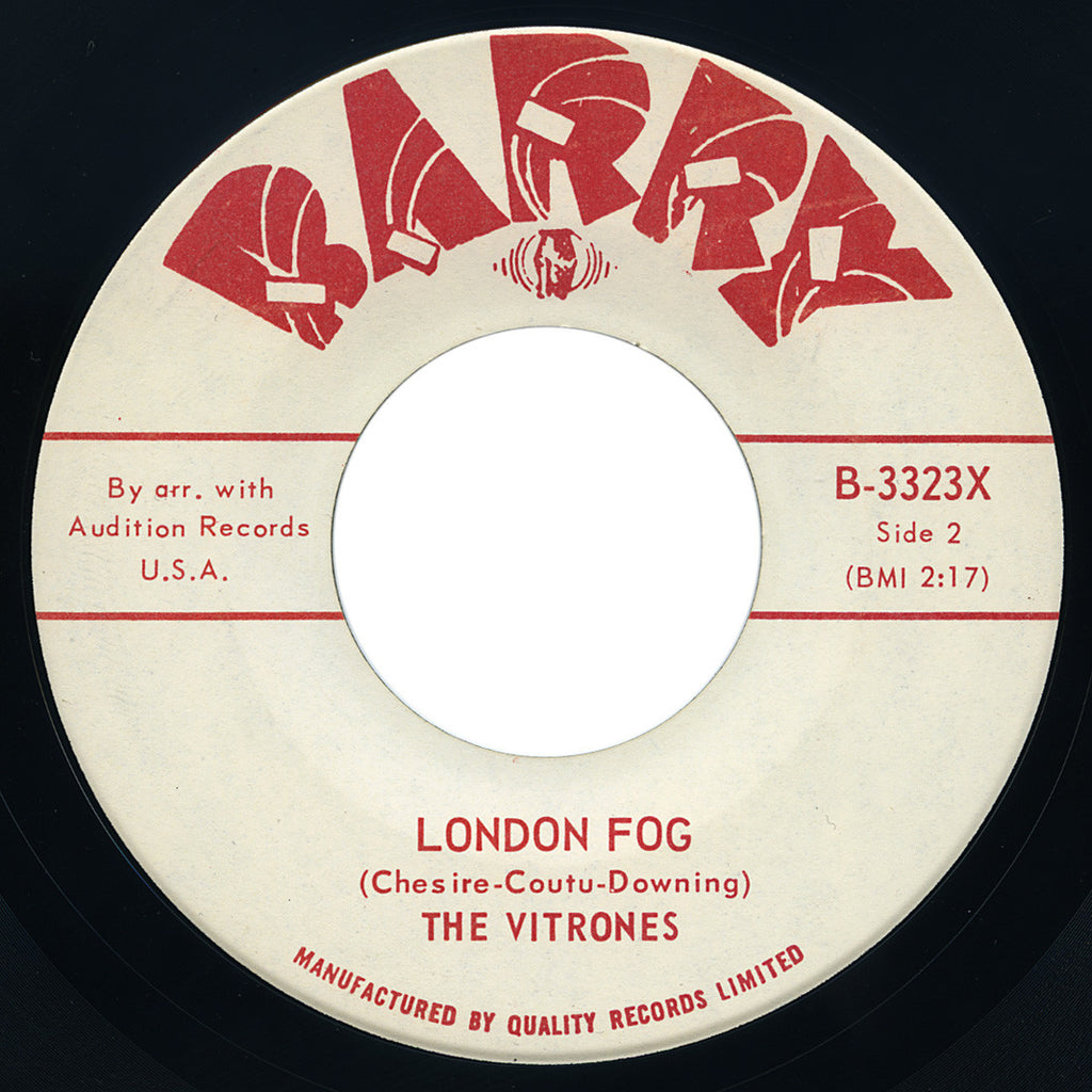 Vitrones – London Fog – Barry