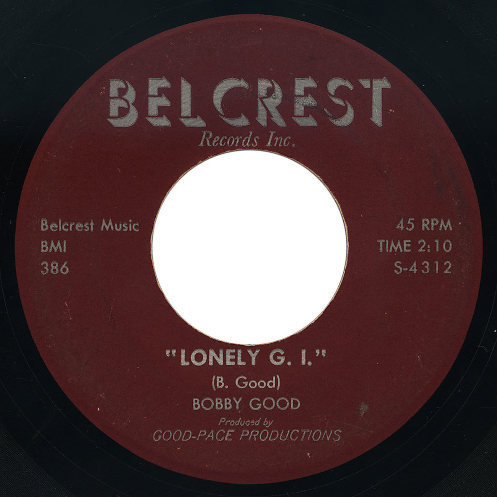 Bobby Good – Lonely G.I. – Belcrest