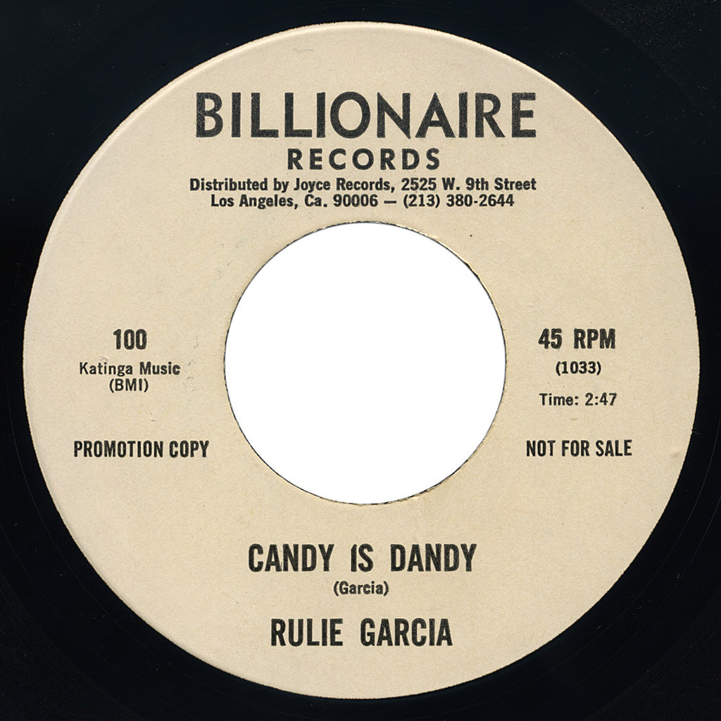 Rulie Garcia – Candy Is Dandy – Billionaire