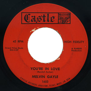 Melvin Gayle – You're In Love – Castle
