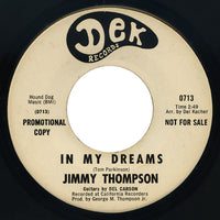 Jimmy Thompson – In My Dreams – Dek