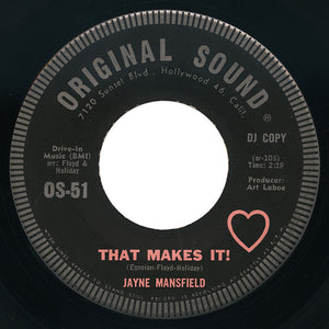 Jayne Mansfield – That Makes It! – Original Sound