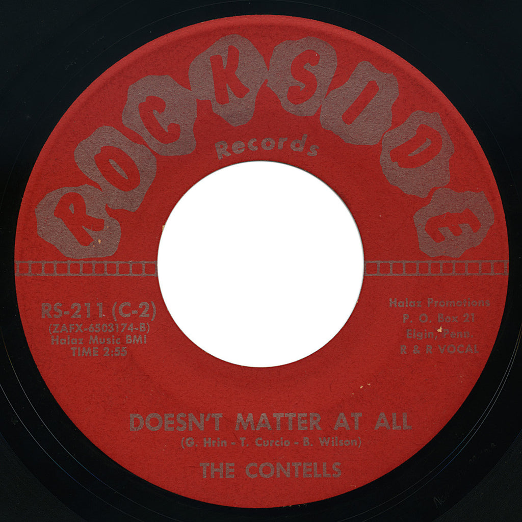Contells – Doesn't Matter At All – Rockside