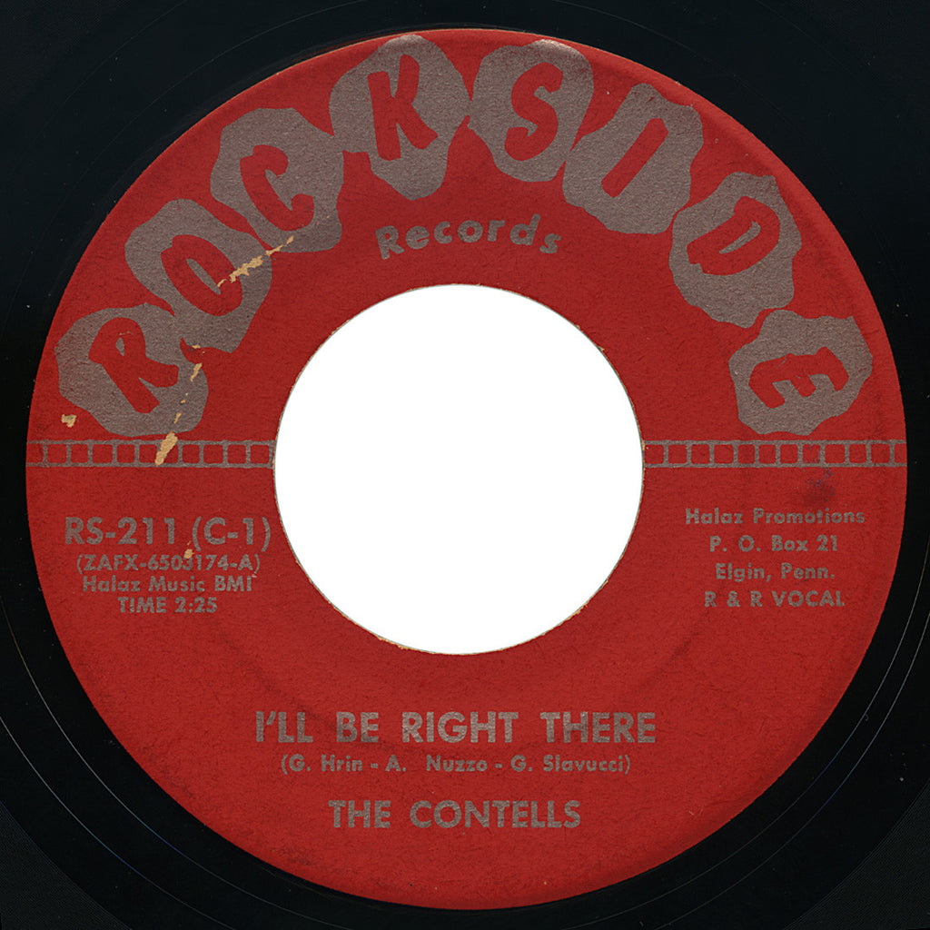 Contells – I'll Be Right There – Rockside