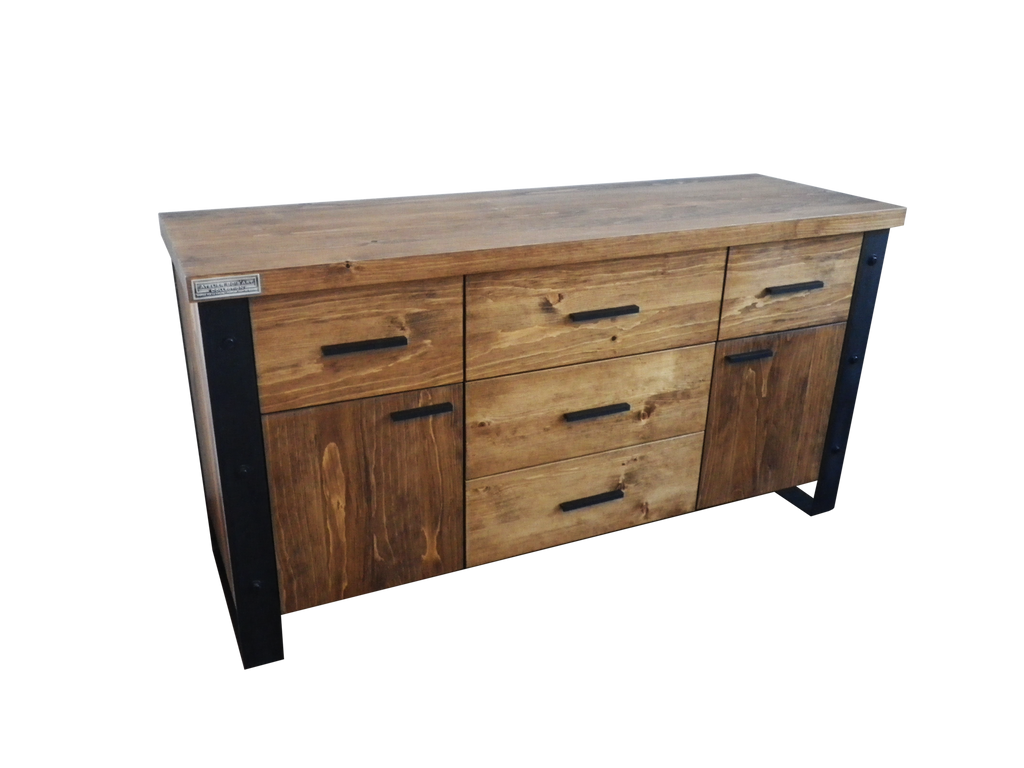 Boutique de mobilier contemporain en bois atelier bois 39 art collection - Buffet bois massif contemporain ...