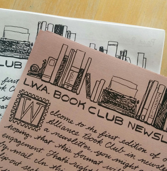 L.W.A. Book Club (Newsletter)