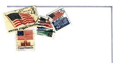 Patriotic Postage Stationery