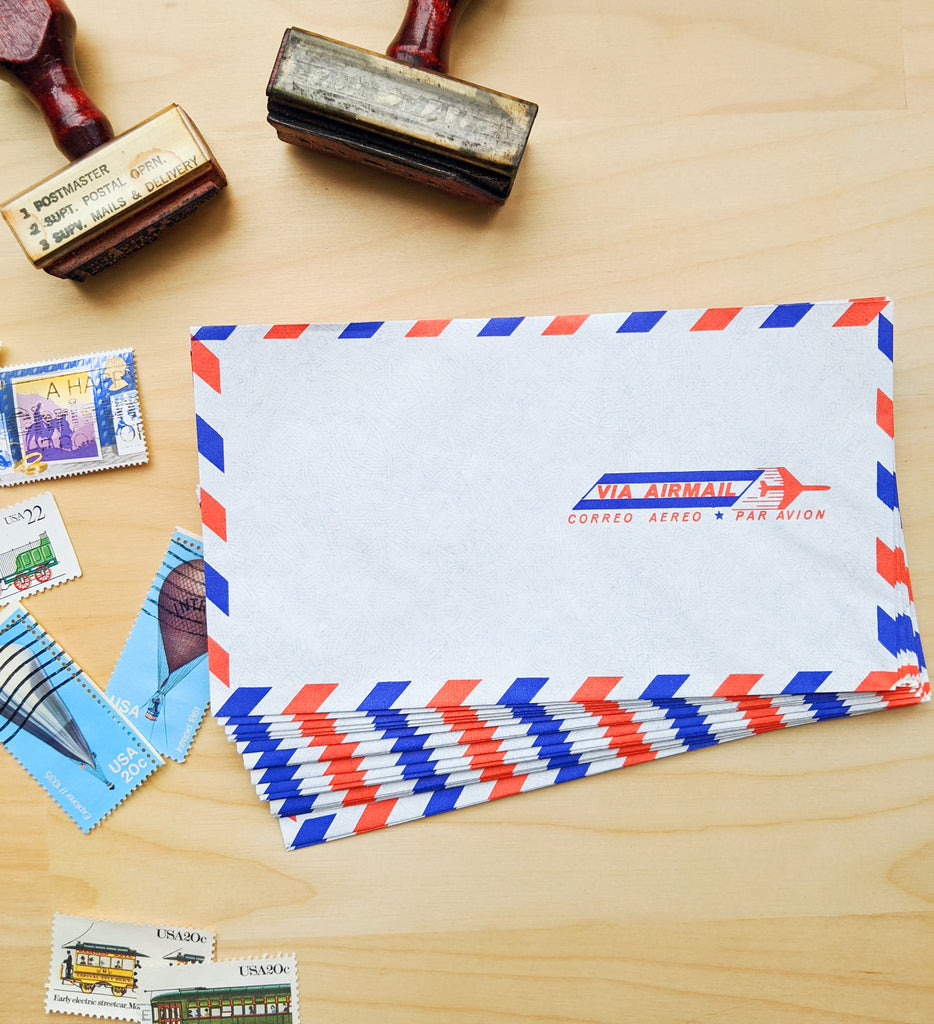 Vintage Airmail Stationery