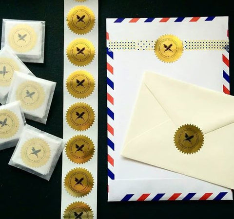 L.W.A. Official Mail Seals