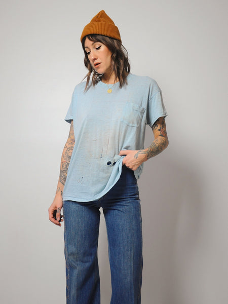 Powder Tissue Thin T-shirt