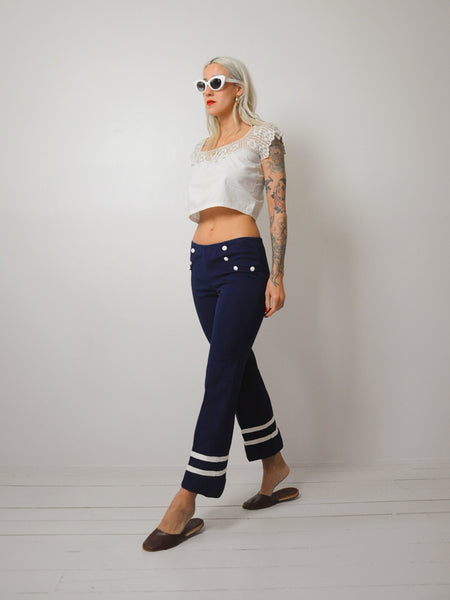 70's Sailor Bellbottoms xs