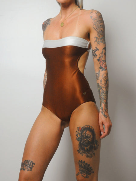 70s Cassini One Piece Swimsuit