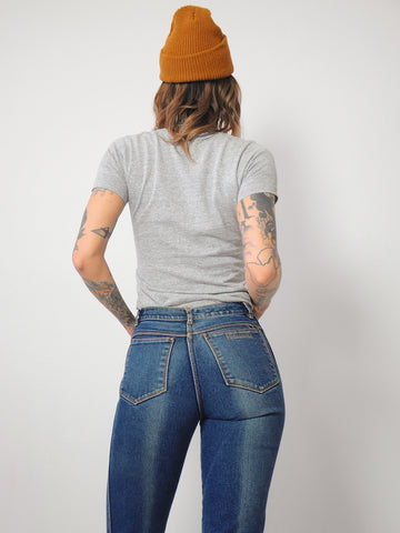 70's Soft + Faded Jeans 26x29