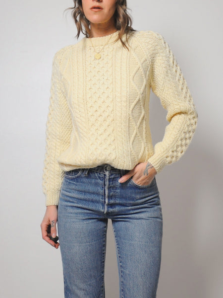 Off White Cableknit sweater