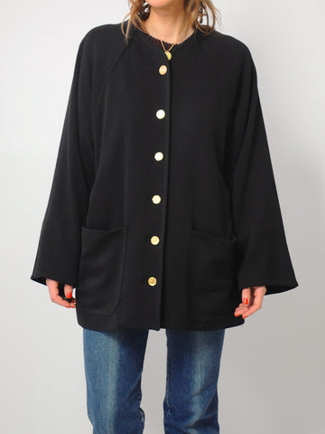 Bill Blass Slouchy Swing Coat