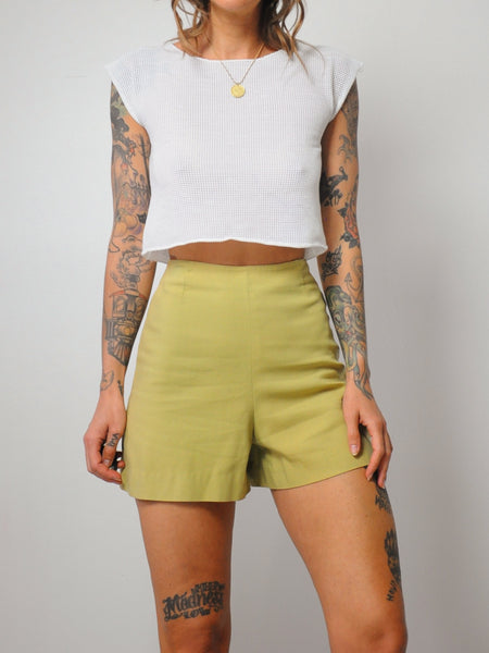 50's Side Zip Shorts