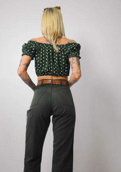 70's Forest Kick Flare Jeans 27x27.5