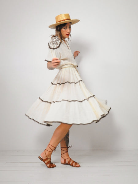 Jolene Cotton Gauze Dress