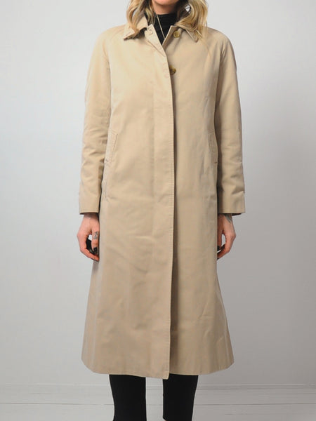 Nova Check Burberry Trench Coat