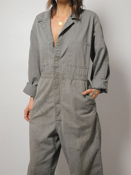 50's Plus Size Lee HBT Coveralls
