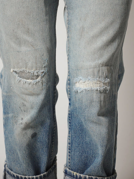 Faded Patched Jeans 33x32