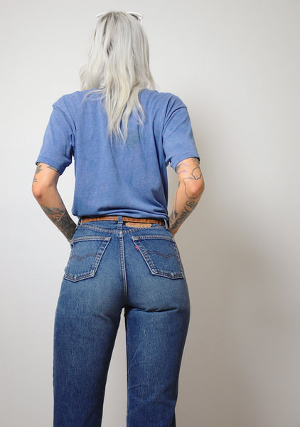 Faded Levi's 501 Jeans 27x29