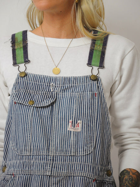 50's Hickory Striped Overalls