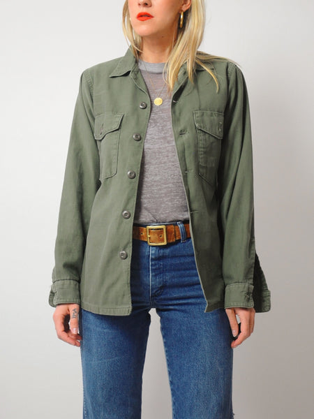70's Faded Army Issue Jacket