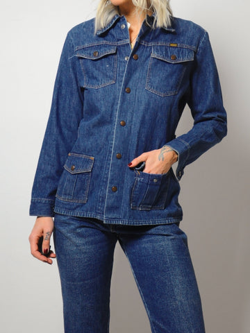 70's Maverick Denim Jacket