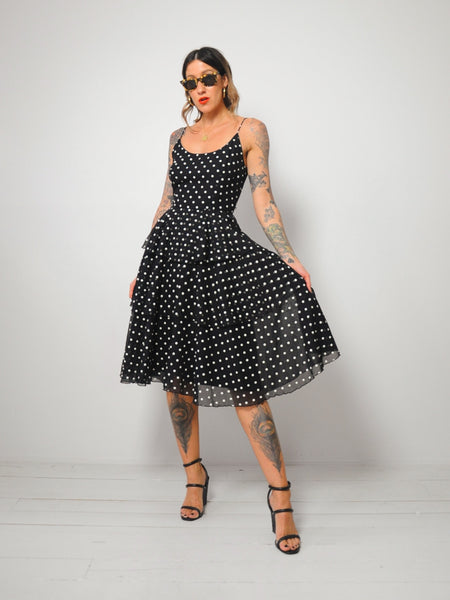 Mollie Polka Dot Dress