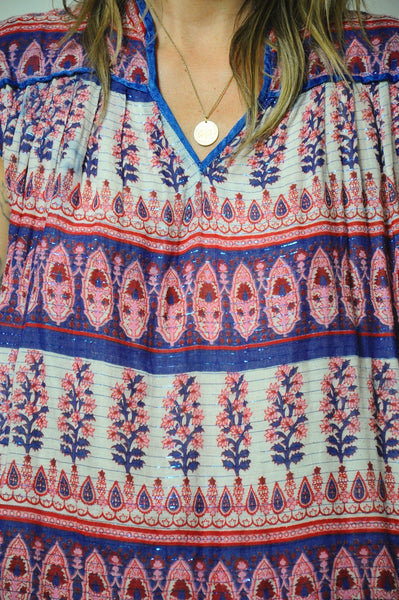 70's India Cotton Tunic