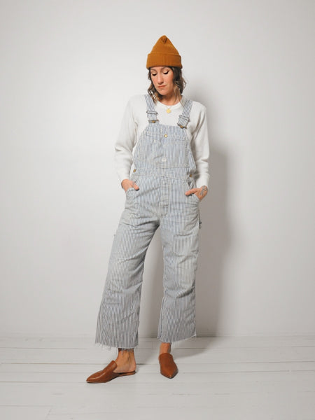 Lee Hickory Stripe Overalls