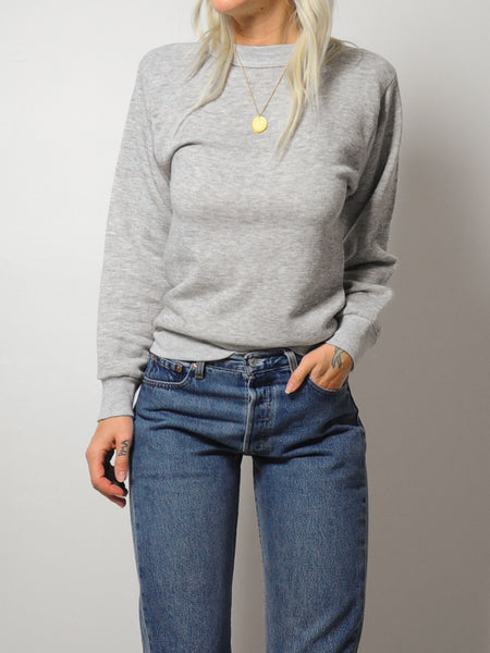 Gray Softest Crewneck