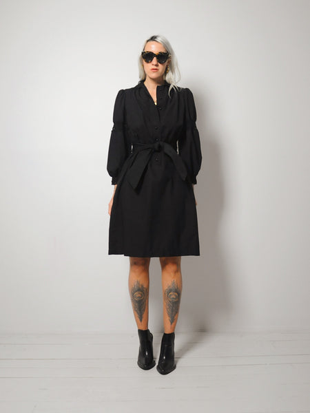 70's Jill Puff Sleeve Dress