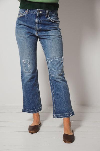 70's Patched Lee Jeans 30x28