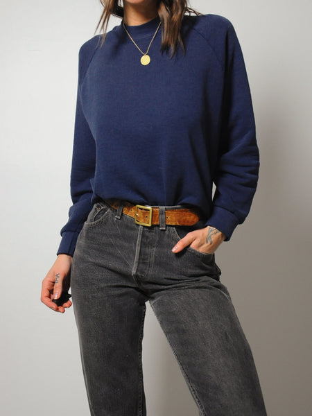 Navy Soft Sweatshirt