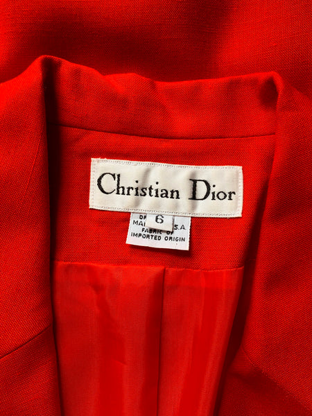 Christian Dior Power Suit